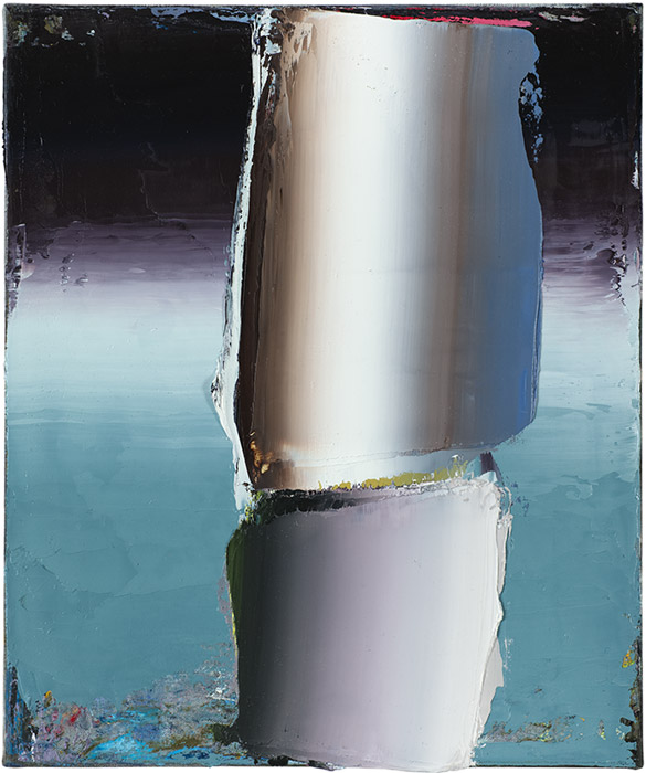 Anna Leonhardt . Ohne Titel (21), 2014, Öl auf Leinwand, 60 x 50 cm