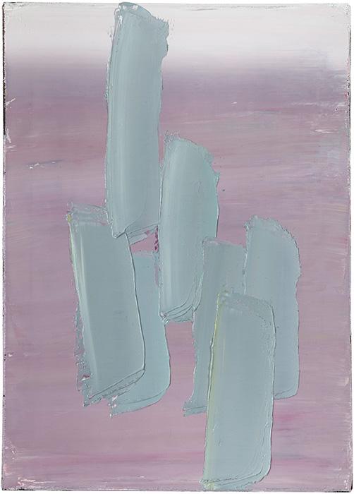 Anna Leonhardt . ohne Titel (34), 2014, Öl auf Leinwand, 70 x 50 cm