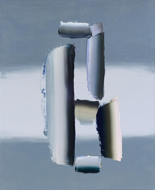 Anna Leonhardt . ohne Titel (42), 2014, Öl auf Leinwand, 165 x 135 cm