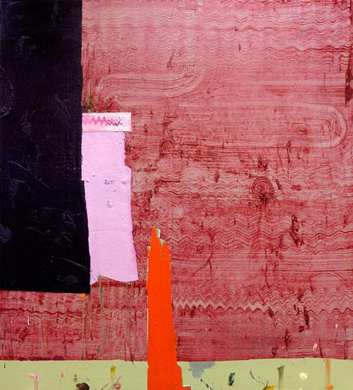 Lawrence Power . ohne Titel, 2014, Öl auf Leinwand, 220 x 200 cm