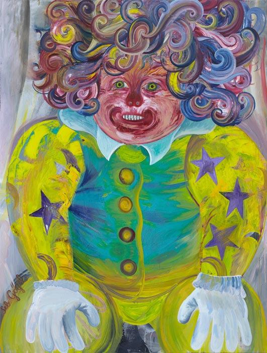 Sebastian Goegel . Wunsch, 2012, oil on canvas, 210 x 160 cm
