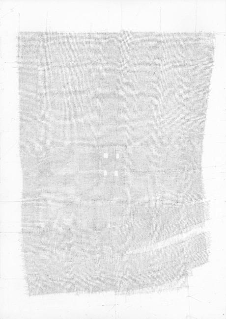 Sebastian Rug . ohne Titel (20-2009), 2009, Bleistift auf Papier, 29,7 x 21,0 cm . Staatliche Kunstsammlungen Dresden, Kunstfonds