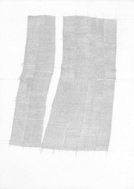 Sebastian Rug . ohne Titel (25-2009), 2009, Bleistift auf Papier, 29,7 x 21,0 cm . Staatliche Kunstsammlungen Dresden, Kunstfonds
