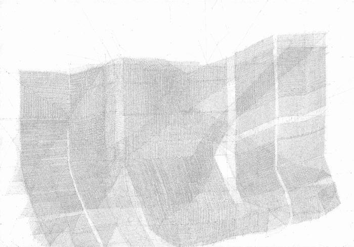 Sebastian Rug . ohne Titel (3-2011), 2011, Bleistift auf Papier, 21,0 x 29,6 cm