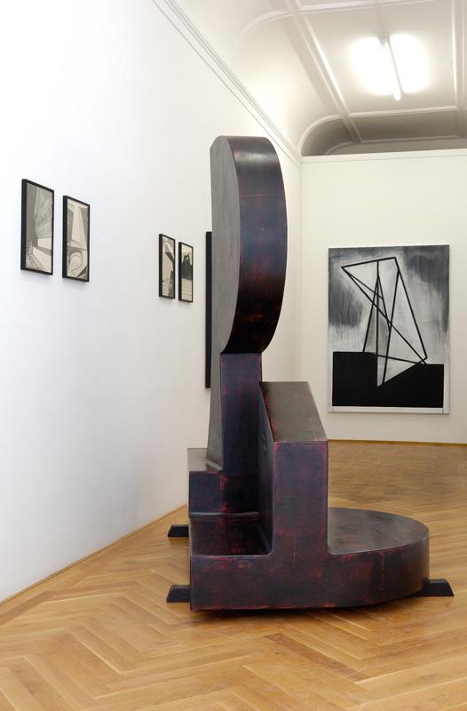 Thomas Moecker . Ausstellungsansicht SCHWARZ & WEISS