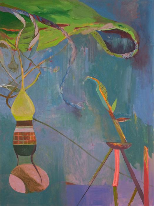 Victor Berezovsky . Hook, 2013, Öl auf Leinen, 160 x 120 cm