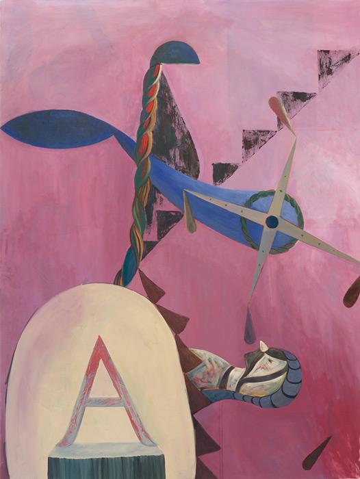Victor Berezovsky . Treatment, 2012, Öl auf Leinwand, 160 x 120 cm